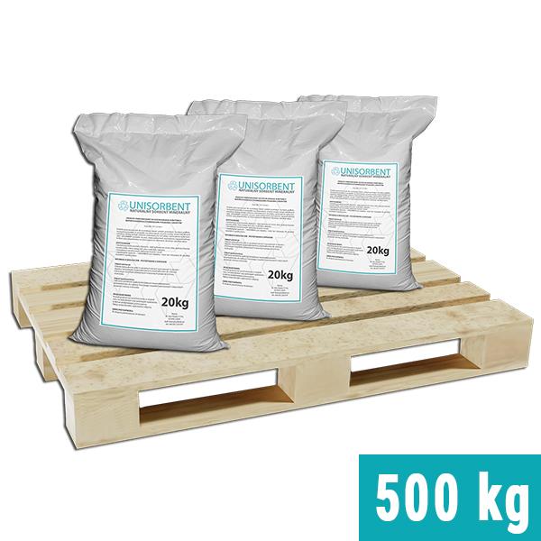 Ilustracja produktu: Sorbent mineralny UNISORBENT na palecie 500 kg
