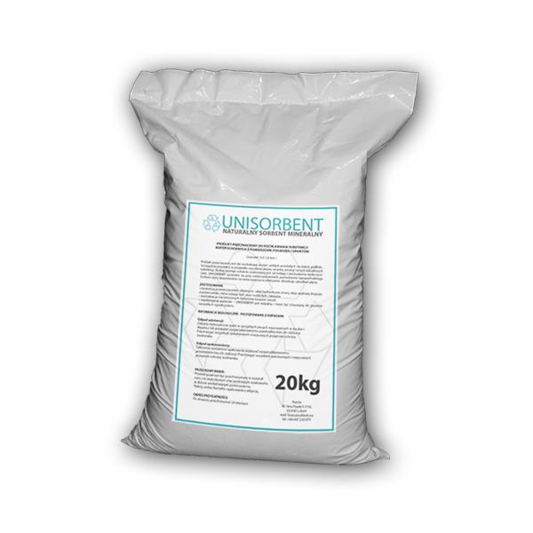 Ilustracja produktu uniwersalny sorbent mineralny UNISORBENT