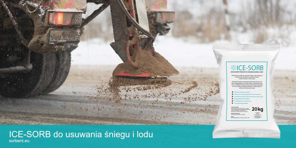 Ilustracja do wpisu ICE-SORB skuteczna alternatywa dla soli drogowej